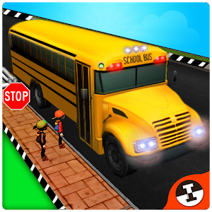 School Bus 3D Free icon