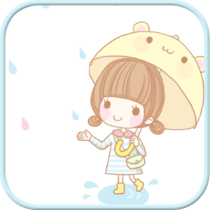 Dasom Rain SMS Theme icon