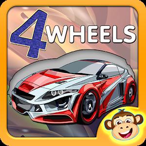 Kids Puzzle - 4 Wheels 2 icon
