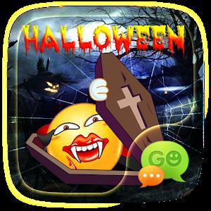 FREE-GO SMS HALLOWEEN2 STICKER icon