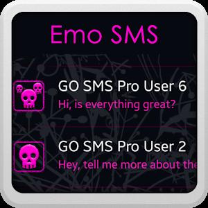 Emo GO SMS icon