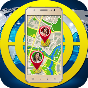 GPS Mobile Number Location icon