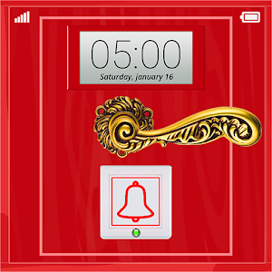 Bell Door Lock Screen icon