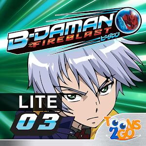 B-Daman Fireblast vol. 3 LITE icon