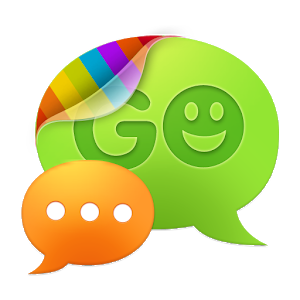 GO SMS Pro New Year - Red icon