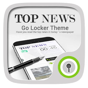 Top News GO Locker Theme icon