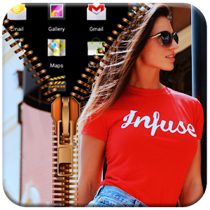 My Photo Zipper Lock Screen icon