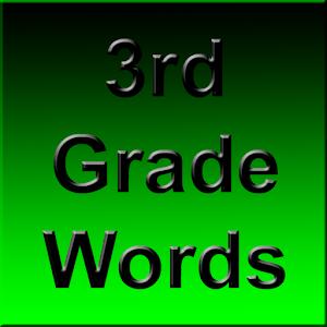 3rd Grade Spelling Words icon
