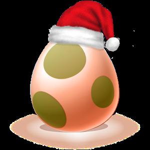 Let's poke the egg : Christmas icon