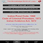 IPC CrPC IEA Act icon