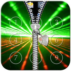 Laser Light Zipper Lock icon