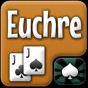 Euchre free card game icon