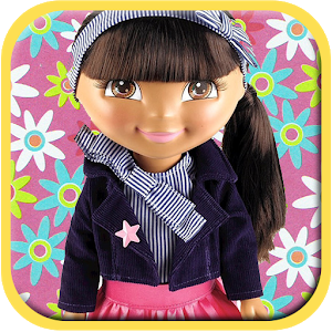 Kid Puzzles Princess Dora Doll icon