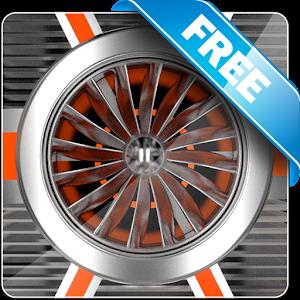 Jet Engine Free live wallpaper icon