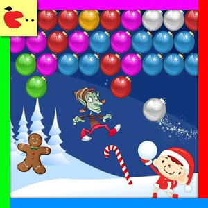 Christmas games: Christmas bubble shooter Xmas icon