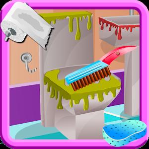 Bathroom Clean Up & Decorating icon