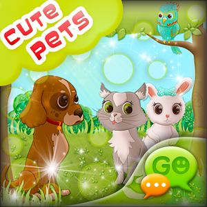 GO SMS Cute Pets icon