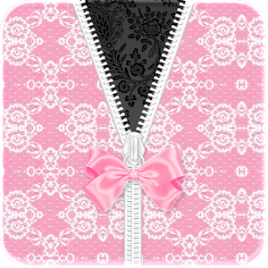 White Pink Lace Bow Go Locker icon