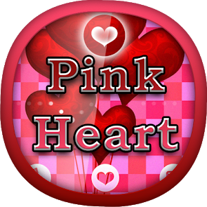 Pink Heart for GO Locker icon