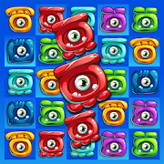 Jelly Monsters - Match 3 Crazy Matching Kingdom icon