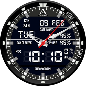 Graphite Watch Face icon