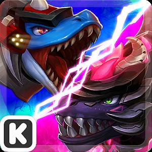 Dinowar: Mosa vs Dark T-Rex icon