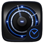 TopSecret GO Clock Theme icon