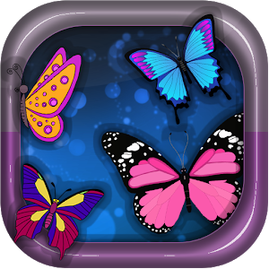 Coloring Book Butterfly icon