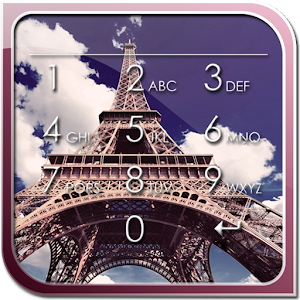 Paris Lock Screen icon