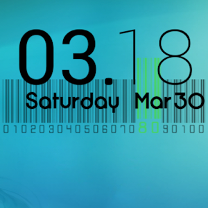 Cute Clock - UCCW Skin icon