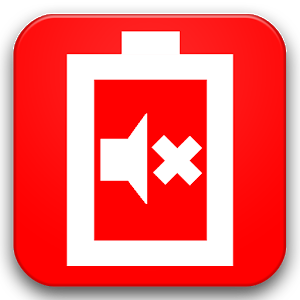 Low Battery Sound Silencer icon