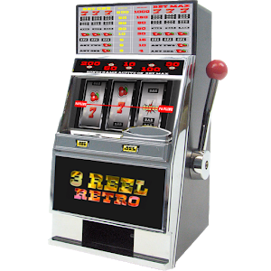 3 Reel Retro Slot Machine icon