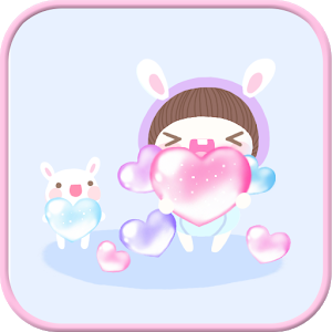 BeBe Trickle SMS Theme icon