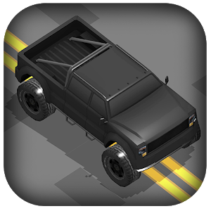 Crazy Monster Truck Zigzag 3D icon