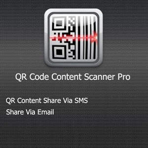 QR Code Content Scanner Pro icon