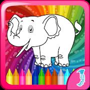 Kindergarten Coloring Games icon