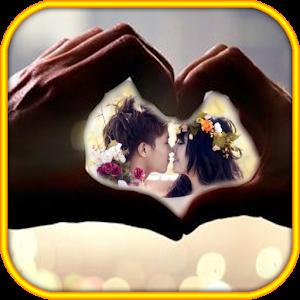Romantic Wedding photo frames icon