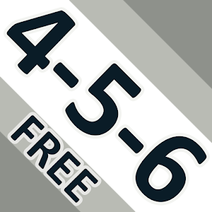 4-5-6 FREE: Word Game icon