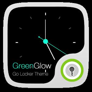 (FREE) Green Glow GO Locker icon
