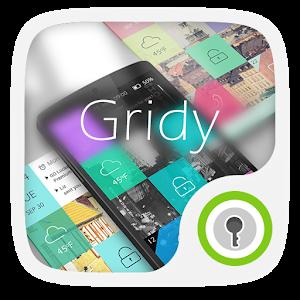 Gridy GO Locker Theme icon