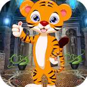 Best Escape Game 417- Little Cheetah Rescue Game icon