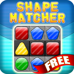 Shape Matcher Free Match 3 icon