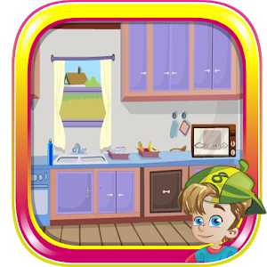 Trendy Kitchen House Escape icon