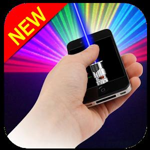 Laser pointer flashlight icon