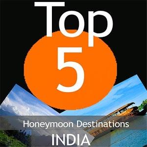 Honeymoon Destinations India icon