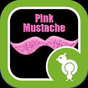 Go Locker Pink Mustache icon