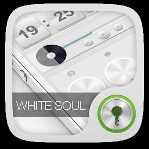 White Soul GO Locker Theme icon