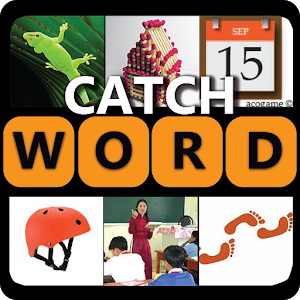 Pics catch word icon
