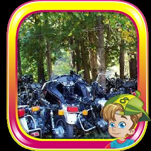 Motorcycle Graveyard Escape icon