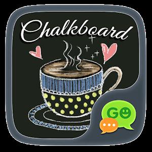 (FREE) GO SMS CHALKBOARD THEME icon